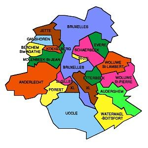 bruxelles plumbing map